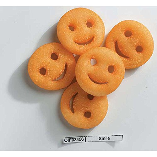 McCain Ore Ida Smiles Fun Shaped Mashed Potato, 4 Pound - 6 per case.