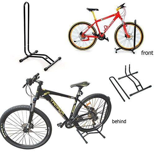 JJOnlineStore. Soporte de suelo para bicicleta, individual; rejilla de soporte para aparcar bicicletas