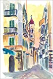 Póster 61 x 91 cm: Marvellous Corfu Streets in Greece de M. Bleichner - impresión artística, Nuevo póster artístico