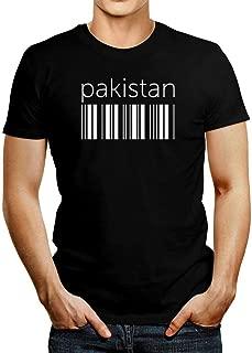 Idakoos Pakistan Lower Barcode T-Shirt