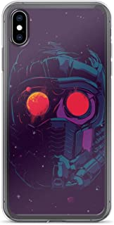 iPhone X/XS Pure Anti-Shock Clear Case Star Lord Face Mask