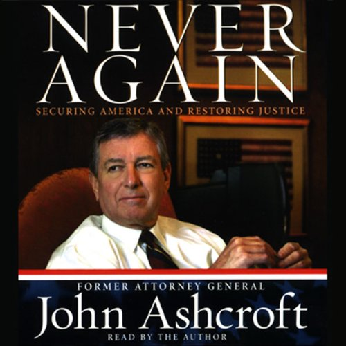 Never Again audiobook cover art