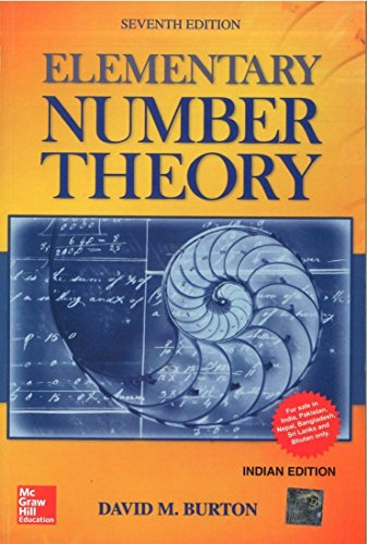 Compare Textbook Prices for Elementary Number Theory Paperback 7th Edition ISBN 9781259025761 by Burton
