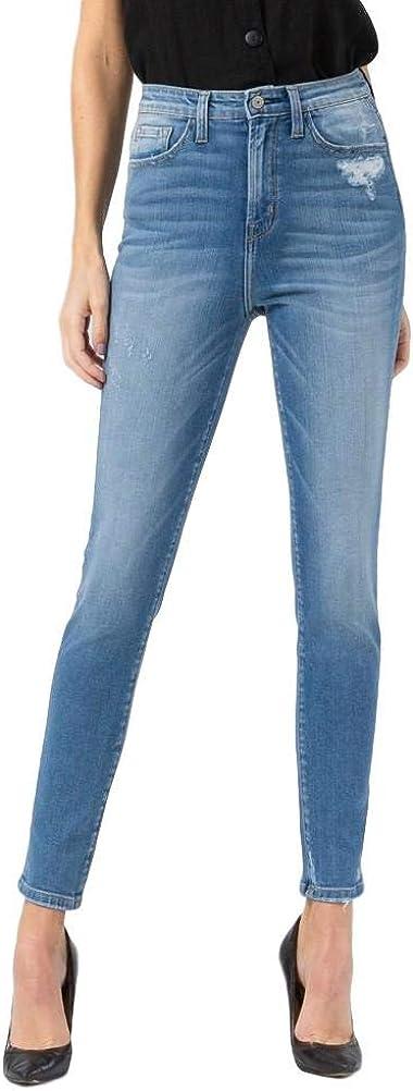 Vervet by Flying Monkey Love Me Ultra High Rise Ankle Skinny Jeans (24)