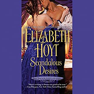 Scandalous Desires audiobook cover art