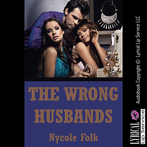 The Wrong Husbands audiobook cover art