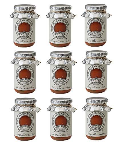 Azienda Agricola Prunotto Mariangela - Sugo Alle Zucchine g. 215 - 9 Confezioni da 215 g (9x215g)