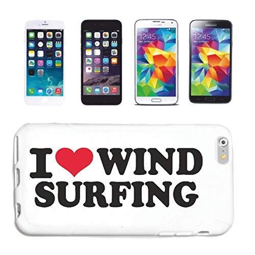 Reifen-Markt Funda Compatible con HTC M8 I Love Wind Surfing Surfing Surfing SURFEN SURF Profesores Surf Tabla de Surf Funda Funda Funda Smart Cover