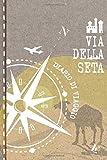 Via della Seta Diario di Viaggio: Journal di Bordo Guidato da Scrivere / Compilare - 52 Citazioni di Viaggio Famose, Agenda Giornaliera con Pianificazione Orari - Taccuino per Viaggiatori in Vacanza