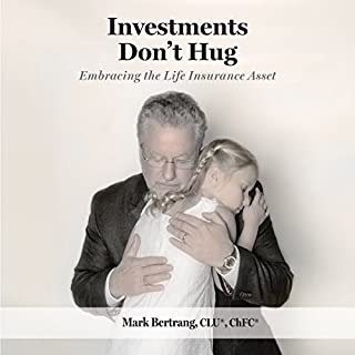 Investments Don't Hug audiobook cover art
