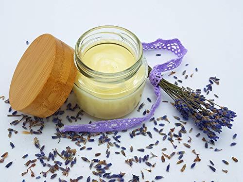 Handbalsam Lavendel, vegan, ohne Palmöl, plastikfrei, reichhaltige Handcreme von kleine Auszeit Manufaktur