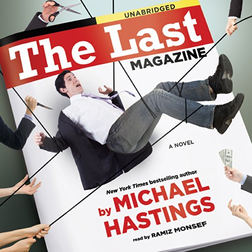 The Last Magazine audiobook cover art