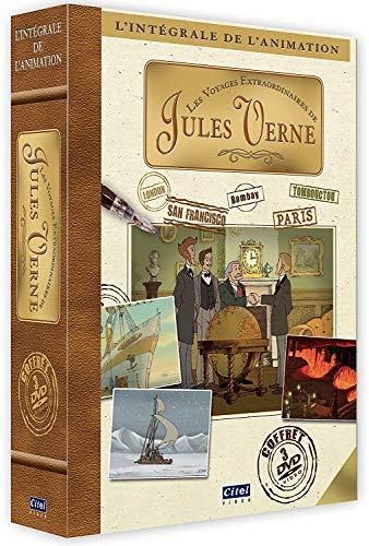Les Voyages Extraordinaires De Jules Vernes (3 Dvd) [Edizione: Francia]