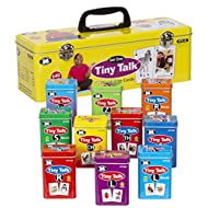 Super Duper Publications Tiny Talk Articulation and Language Photo Flash Cards Set 1 (10 Fun Decks) - Educational Material for Children
