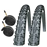 Schwalbe CX Comp 700 x 38c Bike Tyres with Presta Tubes (Pair)