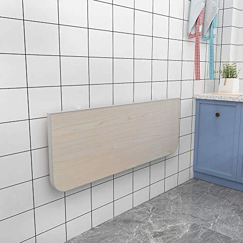 XLAHD Computerarbeitsplätze An der Wand befestigter schwimmender Klapptisch, Klapptisch aus Klappküchen Esstisch Klappbarer Wandtisch für kleine Räume, multifunktional