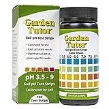 4. Garden Tutor Soil pH Test Strips Kit (3.5-9 Range) 100 Tests