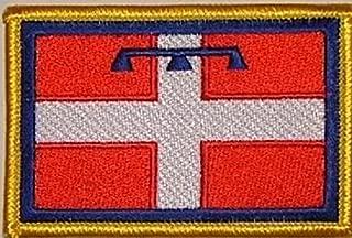 Toppa da Cucire o da Applicare con Il Ferro da Stiro 9 x 6 cm U24 Motivo Bandiera della Russia