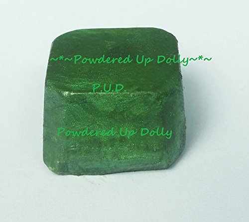 MICA Green Shimmer Sparkle Soap Dye Tint D.I.Y Color Block Color 4-9 Lbs of Melt & Pour Soap Mp Dye Block Melted Bath Soap Bar