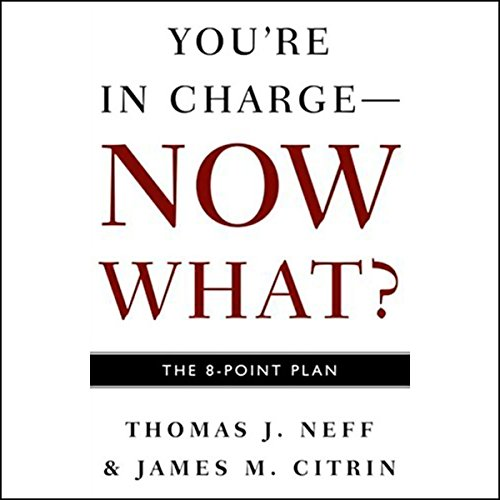 You're in Charge, Now What? audiobook cover art