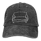 KKKKKS Daily Wear Hat for Man Women Cap Outdoor Workout Adjustable Lable Black