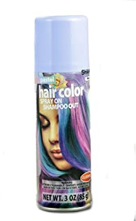 Temporary Hair Color, Goodmark Halloween Pastel | Non Permanent and Semi Hair Dye | Spray on Punky Colour of Blue | Boys a...