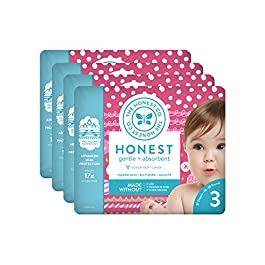 he Honest Company Baby Diapers With TrueAbsorb Technology