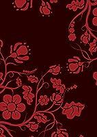 igsticker ポスター ウォールステッカー シール式ステッカー 飾り 841×1189㎜ A0 写真 フォト 壁 インテリア おしゃれ 剥がせる wall sticker poster 004319 その他 模様 花 黒