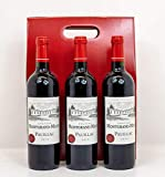 Château Montgrand-Milon, Pauillac 2015 Premium French Red Wine Gift set - (Three Bottles