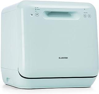 KLARSTEIN Aquatica - Mini lave-vaisselle de table, CEE A, 125 kWh/an, 2 couverts, indépendant, sans installation, lavage à...