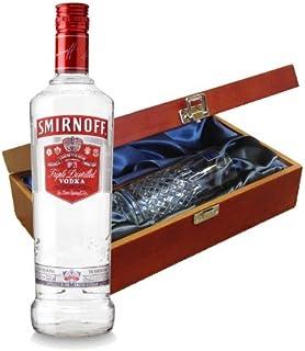 Smirnoff Vodka rouge en Coffret luxueux avec Royal Scot en verre