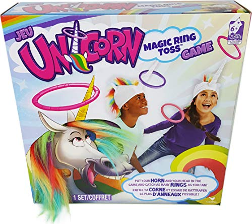 Spin Master Games 6044183 Unicorn Rainbow Rings