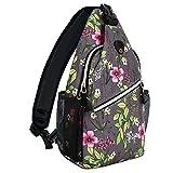 Best Sling Backpacks - MOSISO Sling Backpack,Travel Hiking Daypack Periwinkle Crossbody Shoulder Review