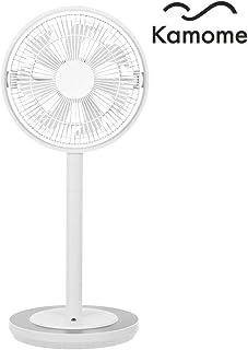 Kamome Living - Ventilador de pie (Muy silencioso, Altura Regulable, oscilación Horizontal, Temporizador, Apagado automático, Compartimento para Aceite aromático, Mando a Distancia)