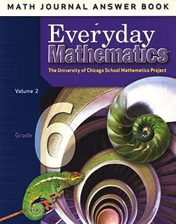 Everyday Mathematics: Math Journal Answer Book, Grade 4, Vol. 2 (University of Chicago School Mathematics Project)