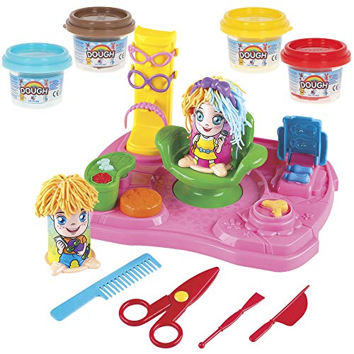 PlayGo - Plastilina para niños juego de plastilina peluquería playgo (46632)