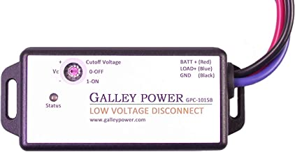 30A Low Voltage Battery Disconnect, 12V/24V Auto Detect