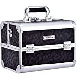 Frenessa Large Makeup Train Case Large Portable Cosmetic...