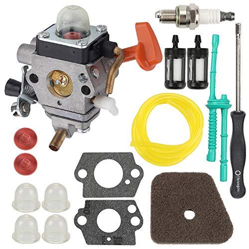 Hilom C1Q-S174 Carburetor for STIHL FS87 FS90 FS100 FS110 FS130 HL90 HL95 HL100 HT100 HT101 KM90 KM100 KM110 SP90 Trimmer Replaces # 4180 120 0604 4180 120 0611 w Carb Adjustment Tool