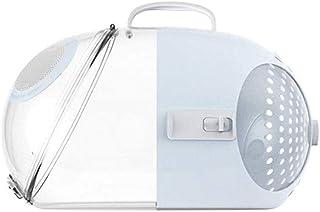 MAOSHE Pet Bag, Cat Carrier Transparent Pet Capsule Transport Box Cats Bag Space Handbag ABS Cat Carrying Dog Box (Color :...