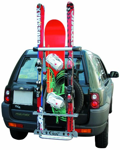 Gev - Porte Skis Gev 4X4 Et Suv - 5 Paires De Skis Ou 2 Snowboards + 1 Paire De Skis
