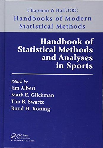 Handbook of Statistical Methods and Analyses in Sports (Chapman & Hall/CRC Handbooks of Modern Statistical Methods)の詳細を見る