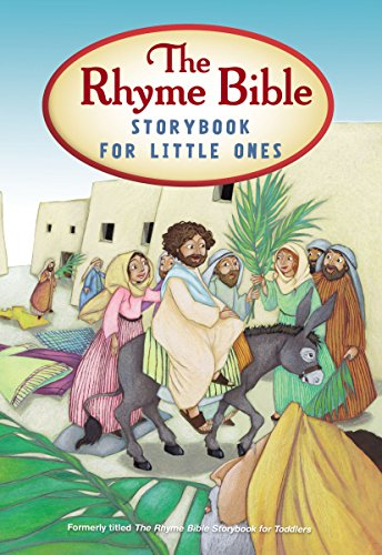 The Rhyme Bible Storybook for Toddlers (English Edition)