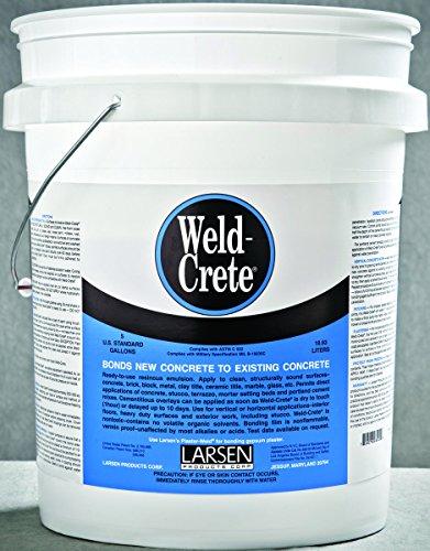Weld-Crete Concrete Bonding Agent 5 Gallon Pail - 1/Case