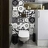 24 (Piezas) Adhesivo para Azulejos 20x20 cm - PS00159 - Belgrado - Adhesivo Decorativo para Azulejos para baño y Cocina - Stickers Azulejos - Collage de Azulejos
