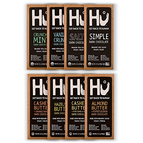 Hu Vegan Chocolate Bars | Gluten Free, Paleo, Non...
