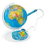 Clementoni - 52202-Exploraglobe 2016 - Le Globe interactif-Jeu éducatif