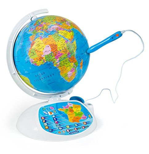 Clementoni - 52202-Exploraglobe 2016 - The Interactive Globe-Educational Game