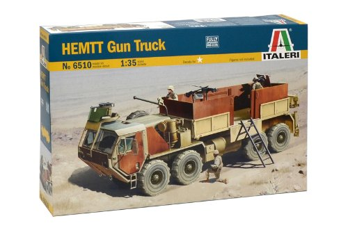 Italeri 6510 - Hemtt Gun Truck Model Kit  Scala 1:35
