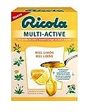Ricola - caramelos multi-active, caja 51g, sabor miel y limón